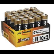 Batteri Xpower alkalisk LR03 20stk