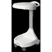 Sekkevogn 120 ltr Hygiene m/ pedal og lokk