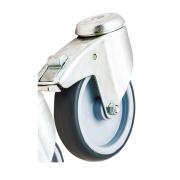 Viking hjul 125mm for Medi vogn m/ brems