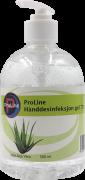 ProLine hånddesinfeksjon Gel 75% 500ml m/ pumpe