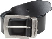 Belt Fristad 9372 LTHR Black 143cm
