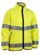 Fleece Jacket HiVis 20471 HVYellow XL