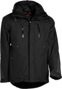 Jacket Active Cargo Black 2XL