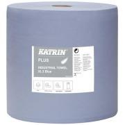Tørkepapir Katrin XL 3 blå 370 mtr.