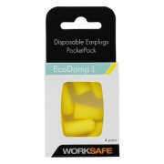 Ørepropper Worksafe EcoDamp 4 par/pk