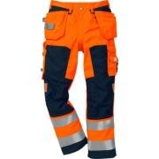 Bukse Fristads 2025 Hi-Vis Orange/Navy