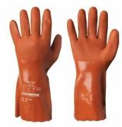 Beskyttelseshanske kjemi Flex 10 rød