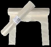 Avfallssekk 100ltr klar m/knyting 38/34x125cm 50my