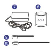 Toucan salt (NaCl) refill boks