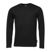 Worksafe Langermet T-Skjorte klassisk svart