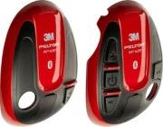 Deksel venstre+høyre 3M Peltor WS Alert XP/XPI Rød