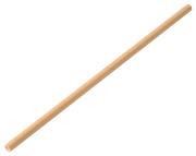 Sugerør papir, Brun, 20cm