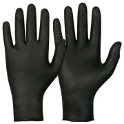 Eng.hanske Magic Touch Nitril P.fri XL sort (200)