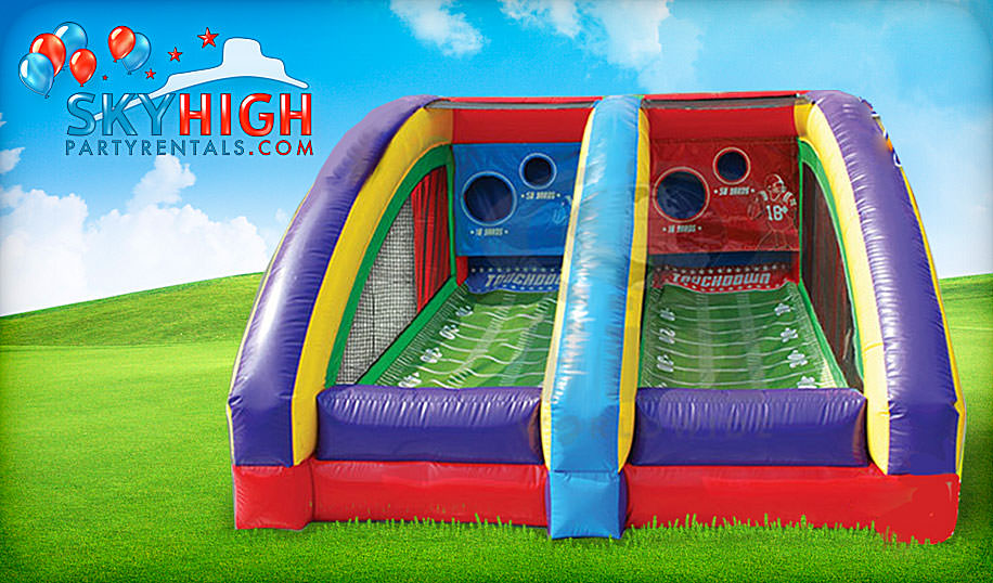 football carnival game rentals