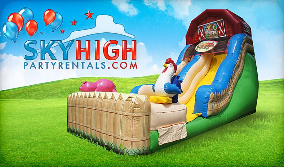 Farm Themed Slide