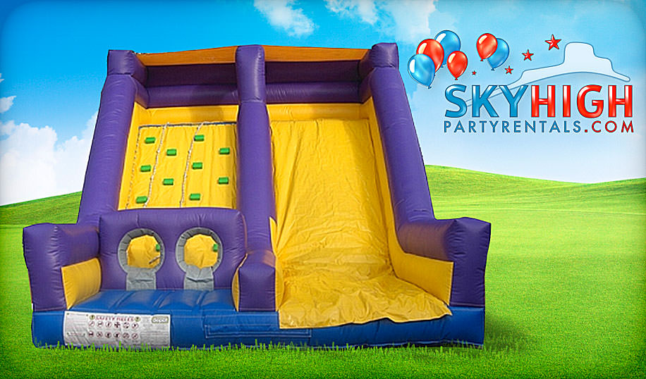 rockwall slide rental Houston