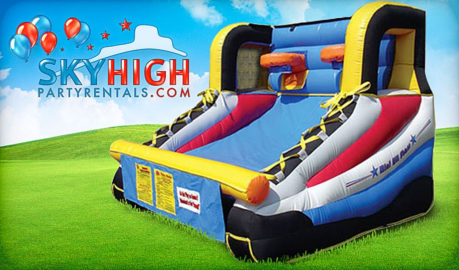 basketball inflatable game