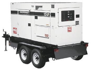 Generator Rentals Texas 150KVA