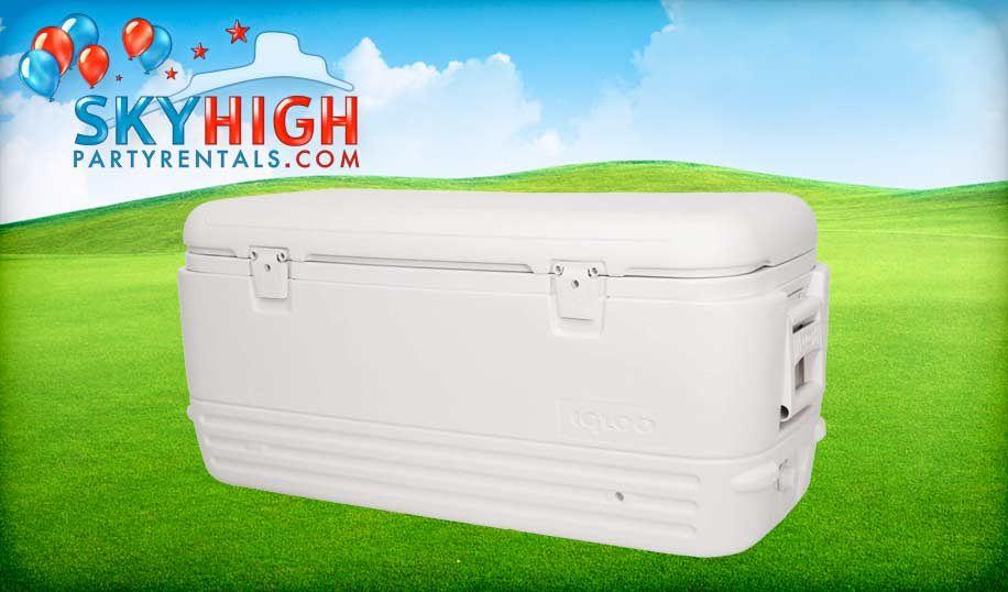 Houston White Igloo Cooler Rentals