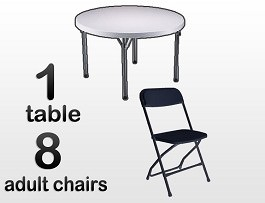 Table Chair Party Rentals Houston