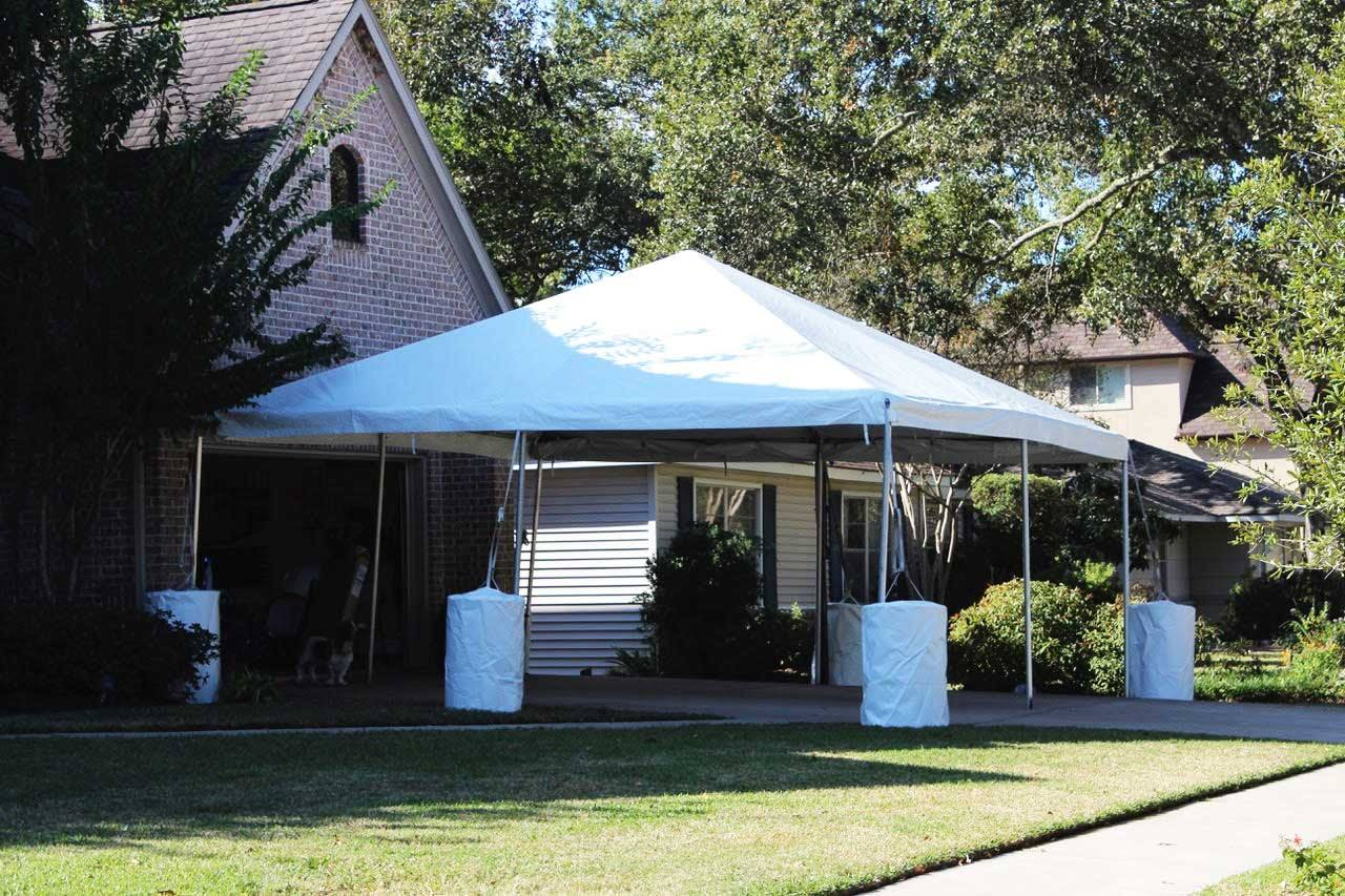 20 x 20 Frame Tent Rental Houston