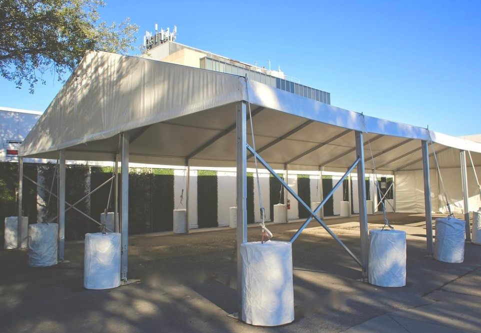 20x50 Frame Tent Rentals Houston