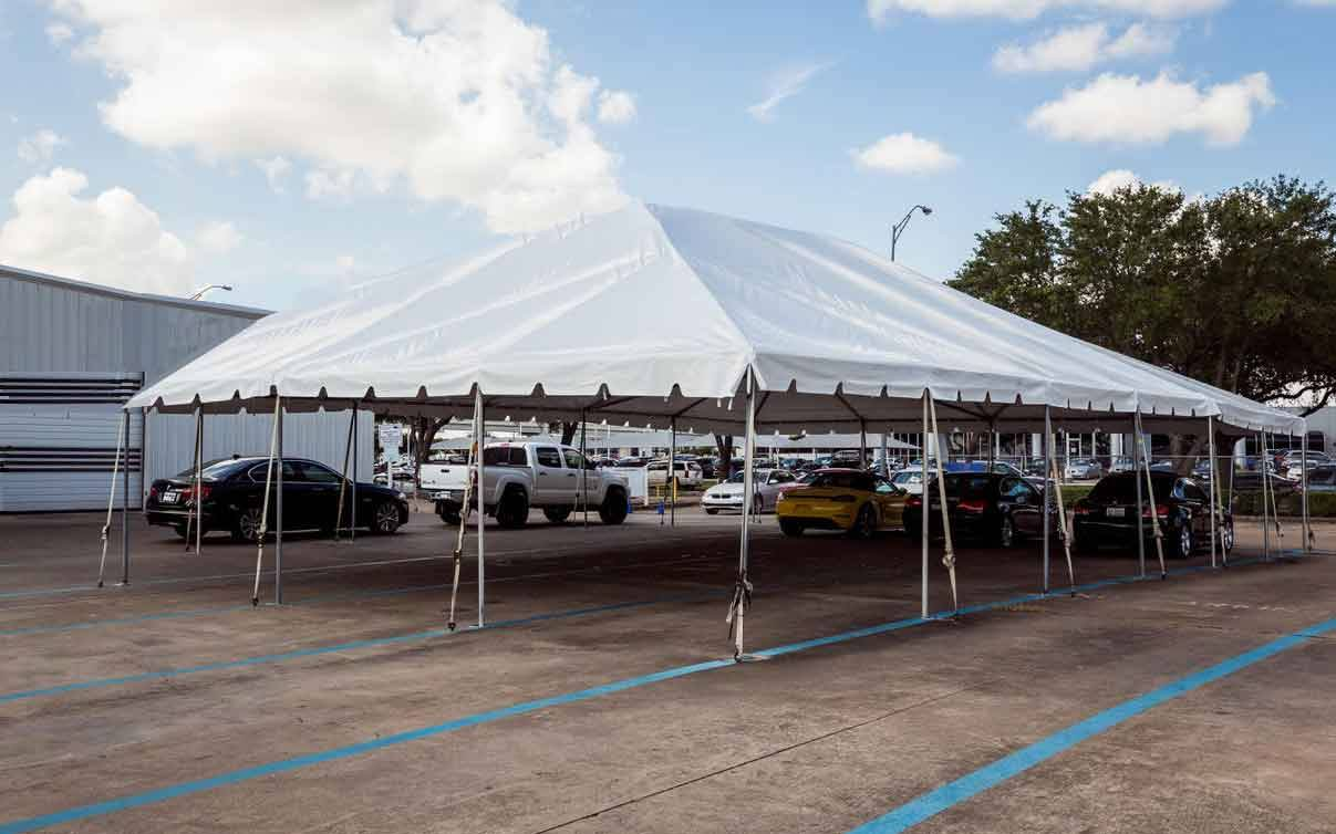 30 x 50 Frame Tent Rentals Houston
