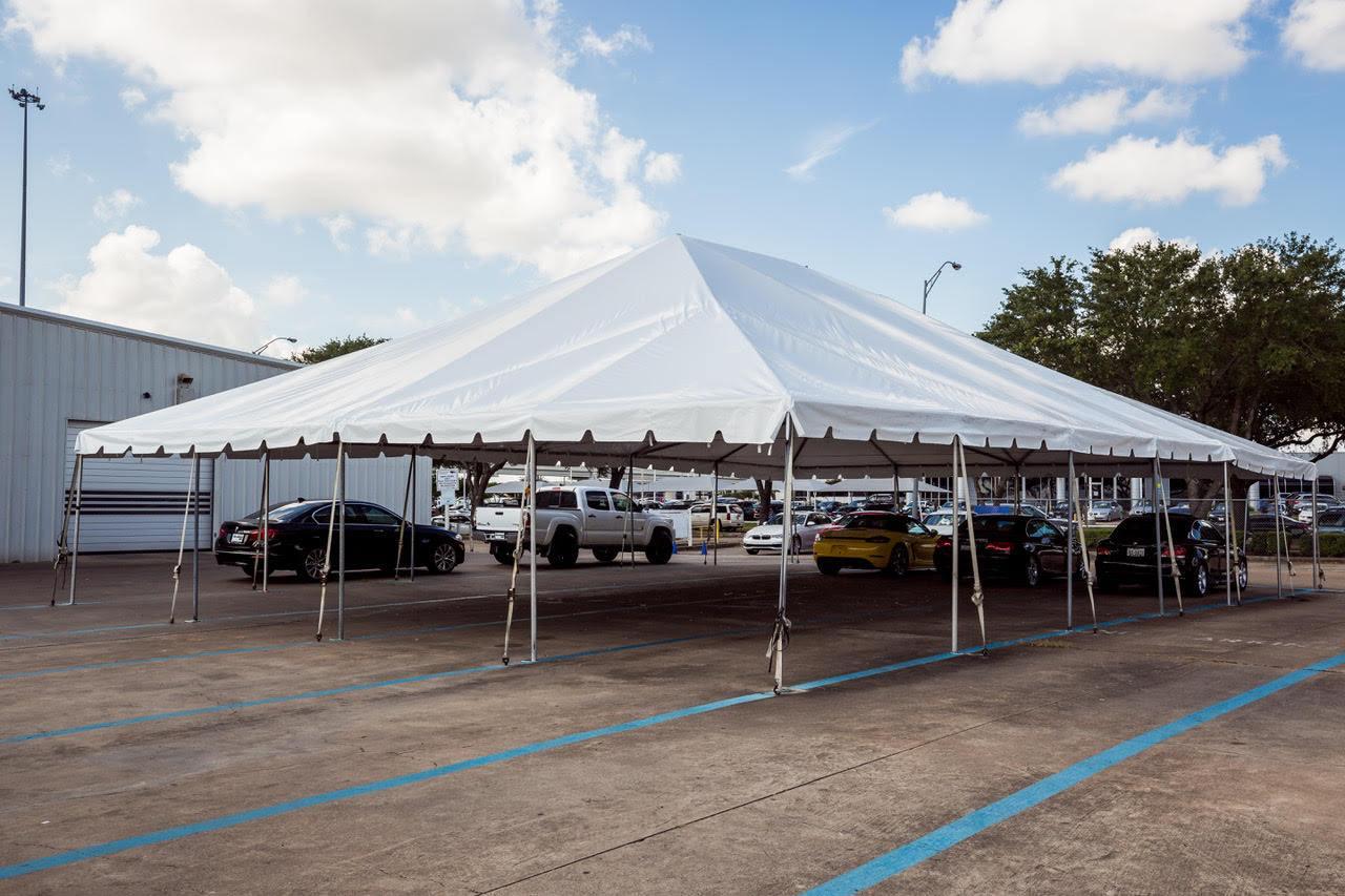 40x40 Frame Tent Rental Houston