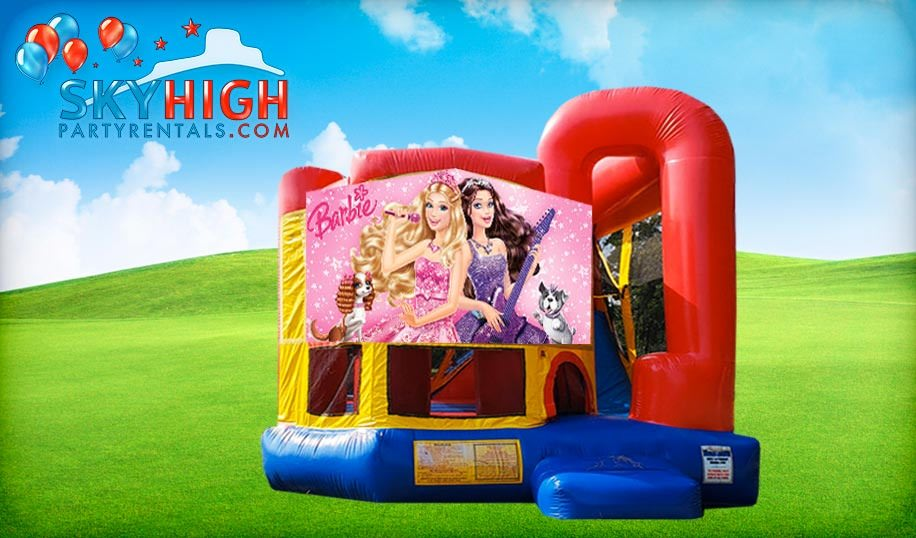 4in1 Barbie Obstacle Course
