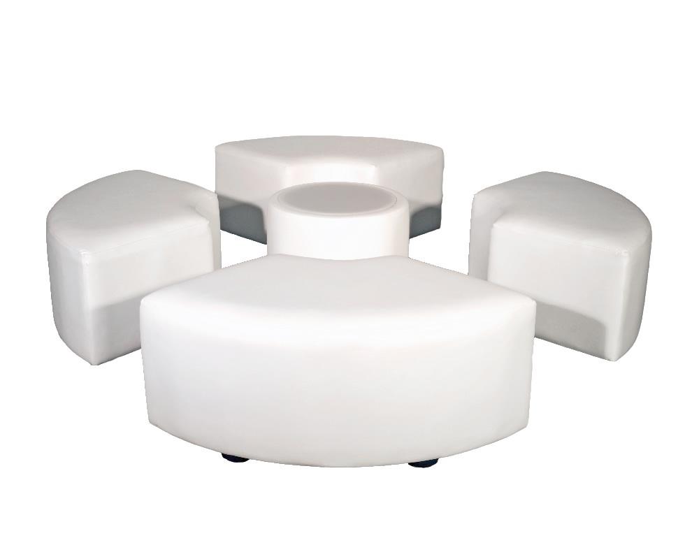 Round set for 4 Lounge Furniture Sets