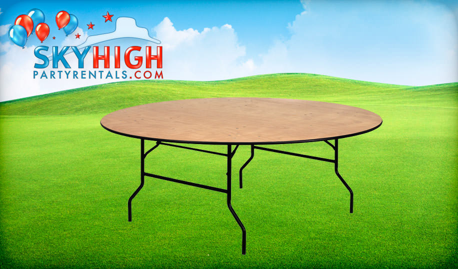 6ft Round Table Rentals
