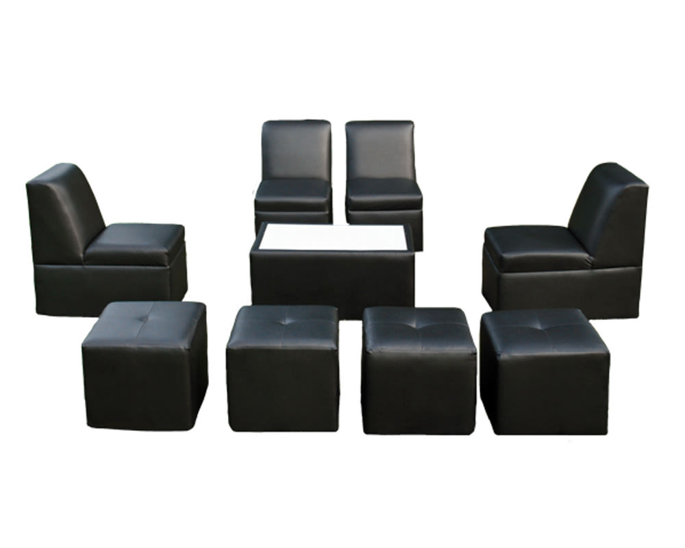 8 Person Lounge Furniture Set Rentals