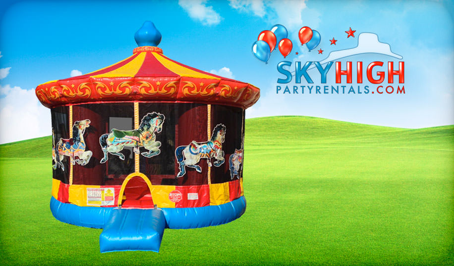 Carousel Bounce House for Rent