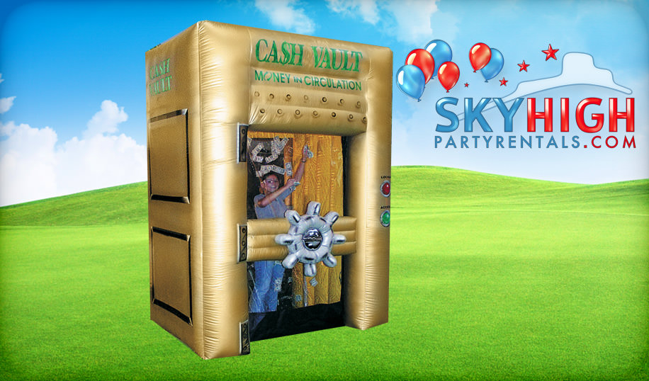Cash Vault Inflatable Rental