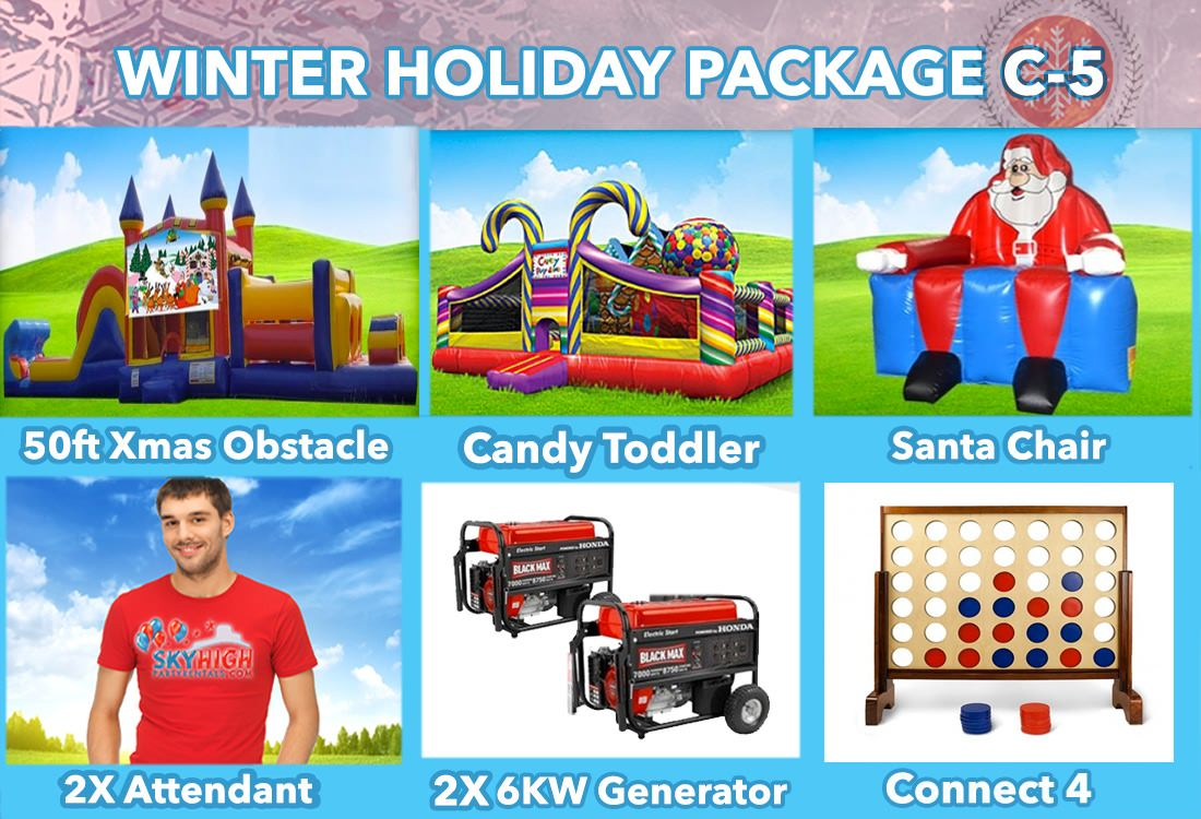 Winter Holiday Party Package