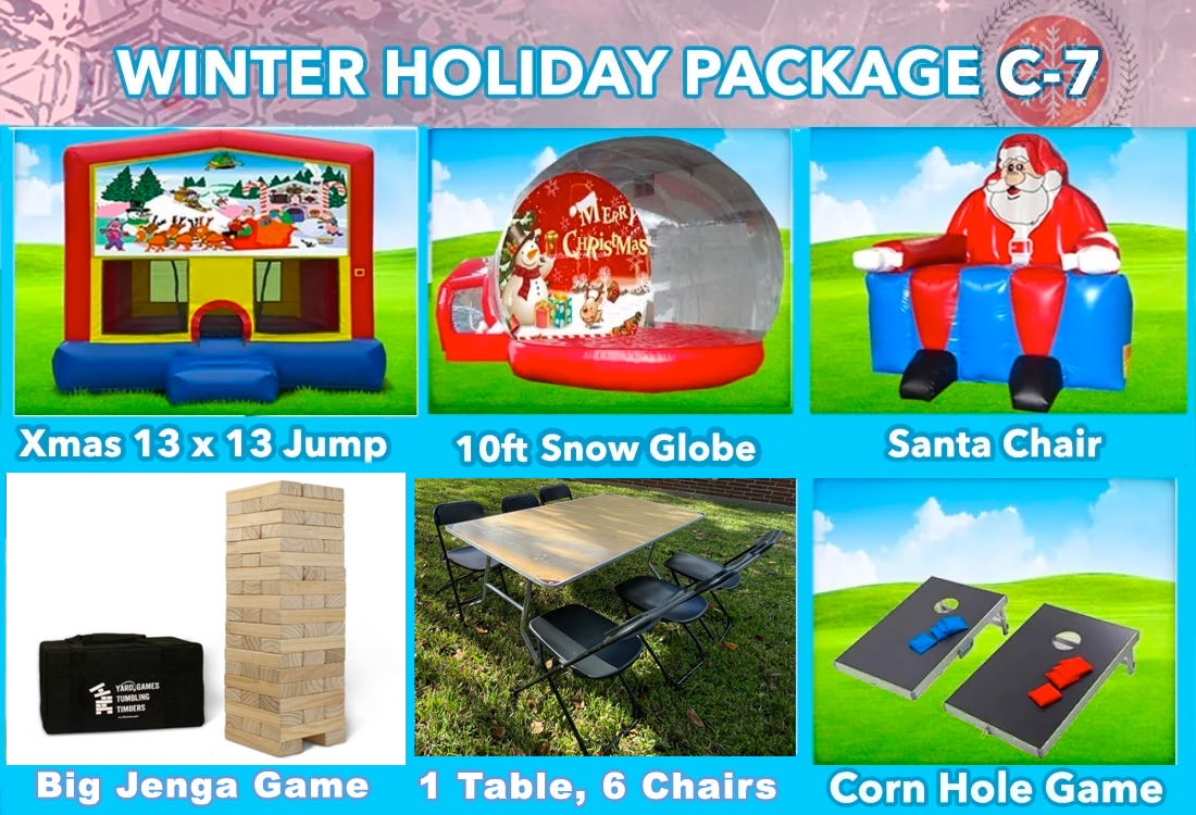 Winter Party Specials