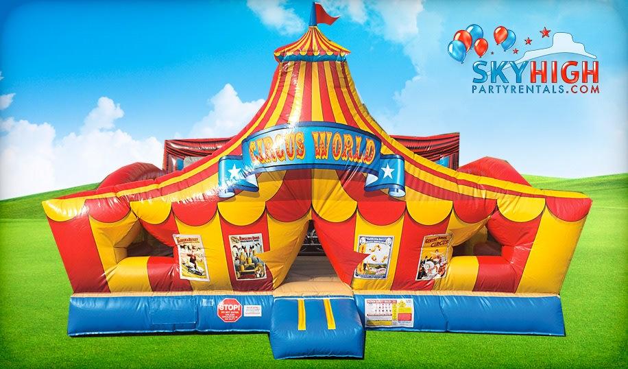 Circus Kids Party Rentals