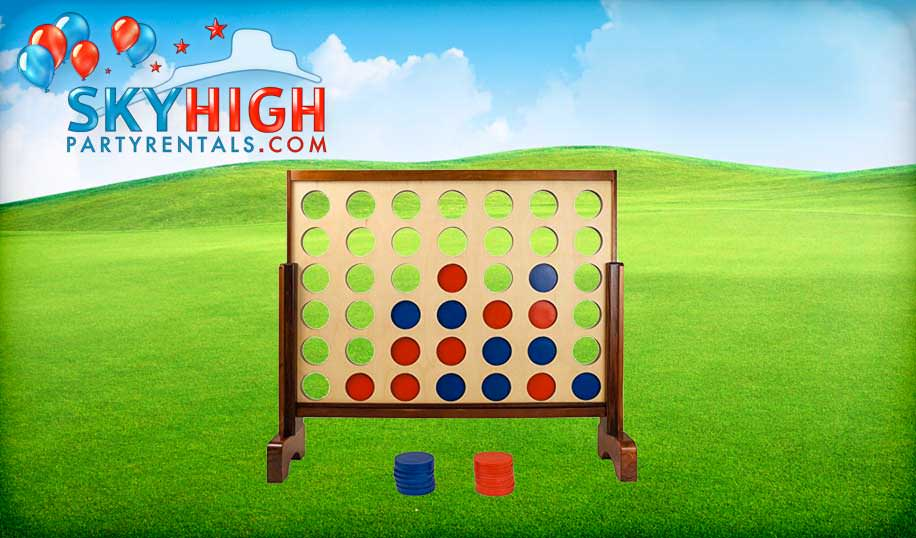 Connect Four Game Party Rentals