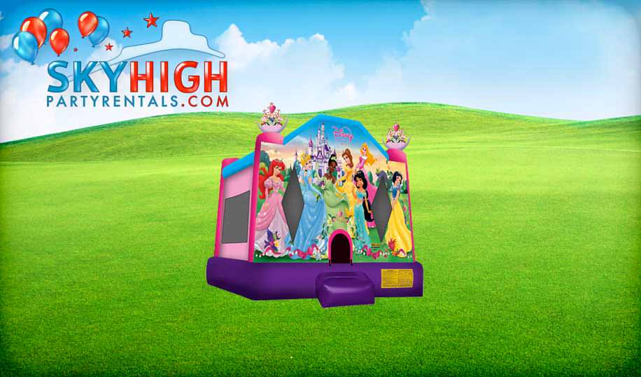 Princess Kids Bouncy Castle
