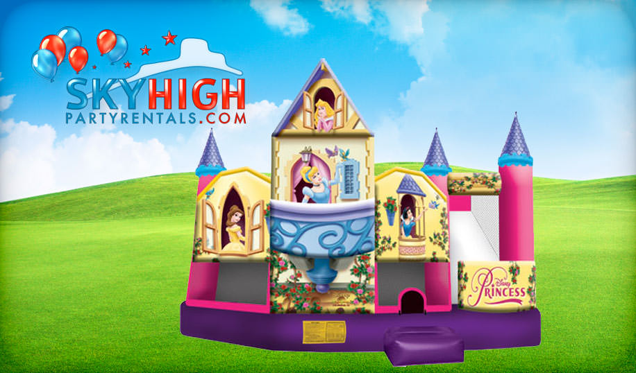 Cinderella 5in1 Bounce House