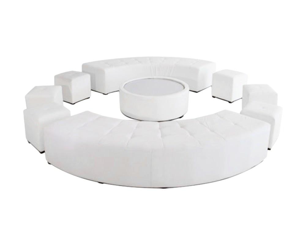 Full circle furniture set for 16