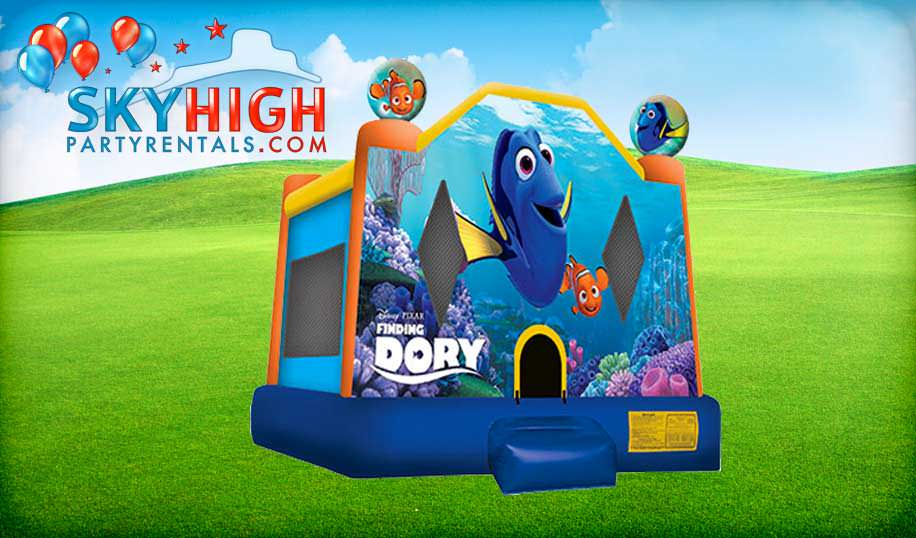 Dory Bounce House Party Rentals