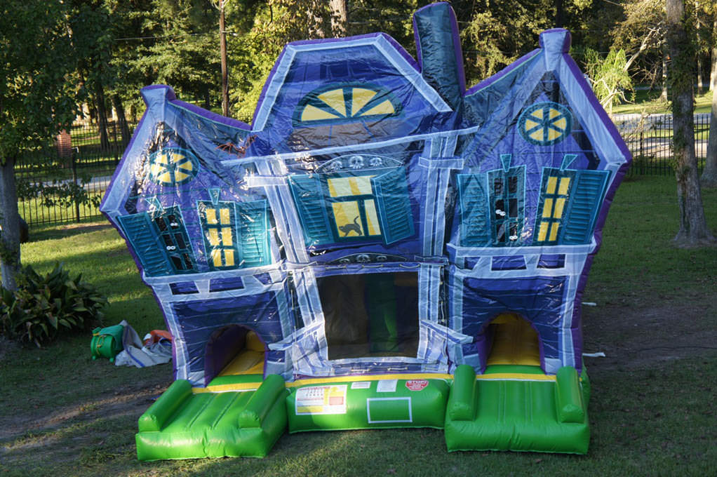 Haunted House Bounce House Combo