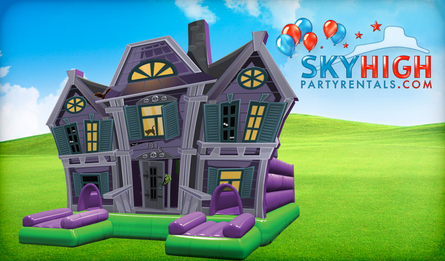Haunted House Inflatable Rentals Houston
