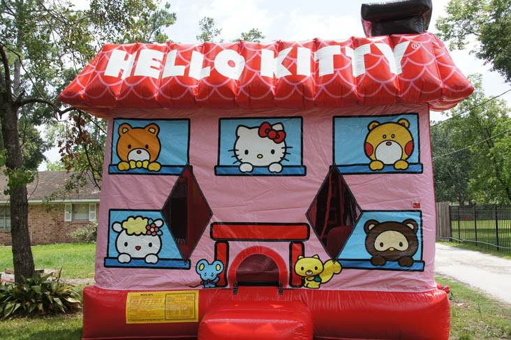 Hello Kitty Bounce House Slide