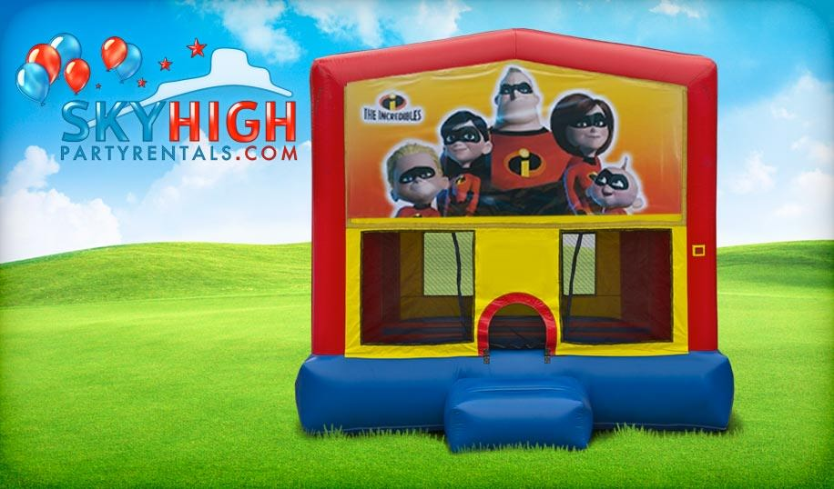 Incredibles Bouncy Castle for Hire