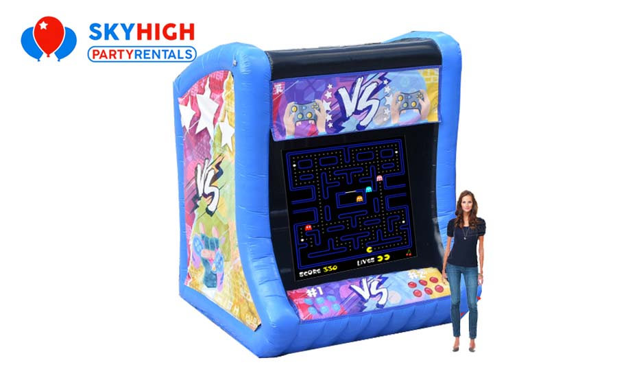 Giant Inflatable Arcade Game Rental For Hire