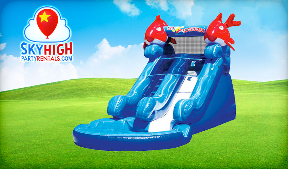 Lik Kahuna Toddler Wet Slide