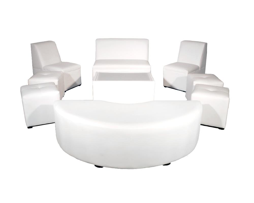 11 People set with half moon furniture set