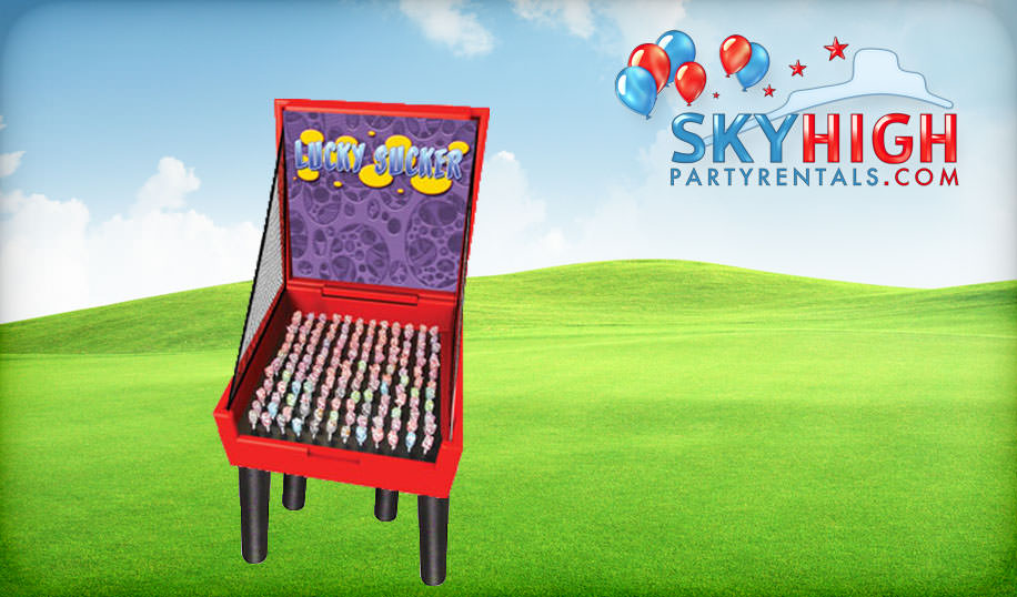 Lucky Sucker Carnival Game Rental